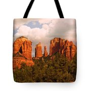 Cathedral Rock Sunset Tote Bag