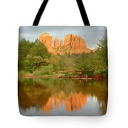 Cathedral Rocks Reflection Tote Bag