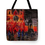 Cathedral Saint Jean-baptiste In Lyon Tote Bag