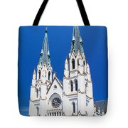 Cathedral, Savannah, Georgia Tote Bag