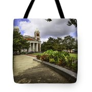 Cathedral Square And Church Tote Bag