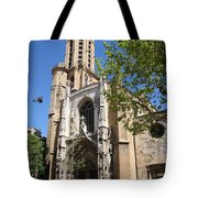 Cathedral St Sauveur - Aix En Provence Tote Bag