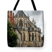 Cathedrale Saint - Cyr - Et - Sainte - Julitte De Nevers Tote Bag