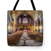 Cathedrale Saint-etienne Interior / Cahors Tote Bag