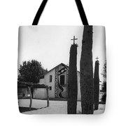 Catholic Church Pisinemo Arizona Tohono O'odham Indian Reservation 1973 Tote Bag