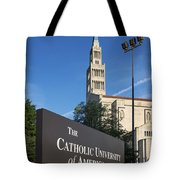 Catholic University Of America Tote Bag