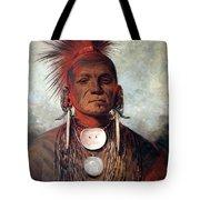 Catlin: Medicine Man Tote Bag