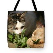 Catnip Anyone Tote Bag