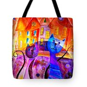 Cats 0366 Marucii Tote Bag
