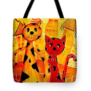 Cats 650 Tote Bag