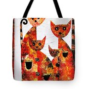 Cats 727 Tote Bag