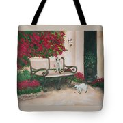 Cat Art Print On Canvas Oil Painting Hire Commission Pet Portrait Artist Tote Bag