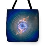 Cat's Eye Nebula Tote Bag