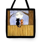 Cats Night Out Tote Bag