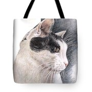Cats View Tote Bag