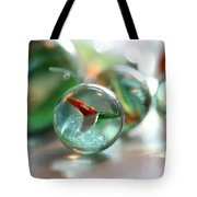 Catseye 3 Tote Bag by Mary Bedy