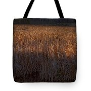 Cattail Bog   #3868 Tote Bag