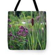 Cattail Pond II Tote Bag