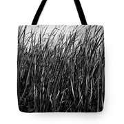 Cattail Reed Background Tote Bag