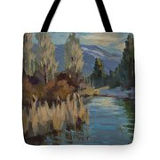 Cattails At Harry's Pond 1 Tote Bag