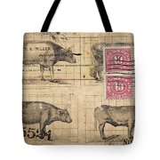 Cattle Arrived Tote Bag