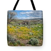 Cattle Camp Tote Bag