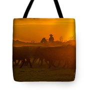 Cattle Drive 20 Tote Bag