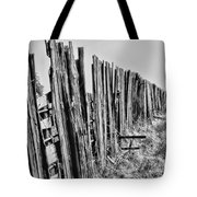 Cattle Fence By Diana Sainz Tote Bag