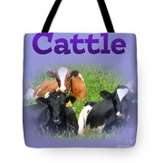 Cattle Tote Bag