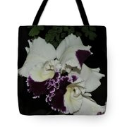 Cattleya Moscombe 'the King'  3 Of 3 Tote Bag