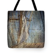 Caught By The Sea Tote Bag