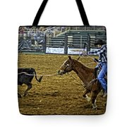Caught Calf Tote Bag
