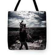 Caught In The Air Tote Bag