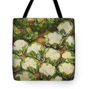 Cauliflower March Tote Bag by Jen Norton
