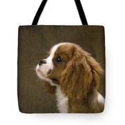 Cavalier King Charles Spaniel Dog Tote Bag