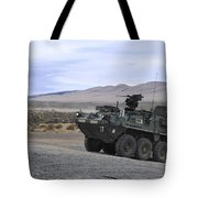 Cavalry Troopers Fire Tote Bag
