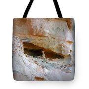 Cave Dwelling Where Pictograms Were Found Tote Bag