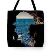 Cave Hole Tote Bag