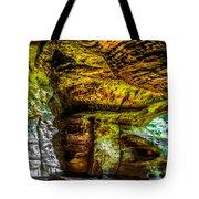 Cave Land Tote Bag
