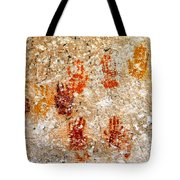 Cave Of A Thousand Hands Tote Bag