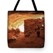 Cave Ruin 2 Tote Bag