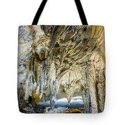 Cave Wall Formations Tote Bag