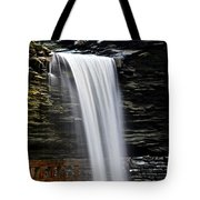 Cavern Cascade Tote Bag by Frozen in Time Fine Art Photography
