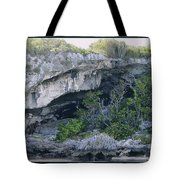 Caves In The Bahamas Tote Bag