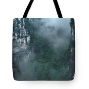 Caving Expedition To Explore The Caves Tote Bag