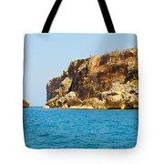 Cayman Brac And Lil Cyb Tote Bag