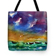 Cayman Color Water Tote Bag