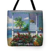 Cayman Porch Tote Bag