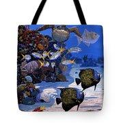 Cayman Reef Re0024 Tote Bag