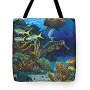 Cayman Turtles Re0010 Tote Bag